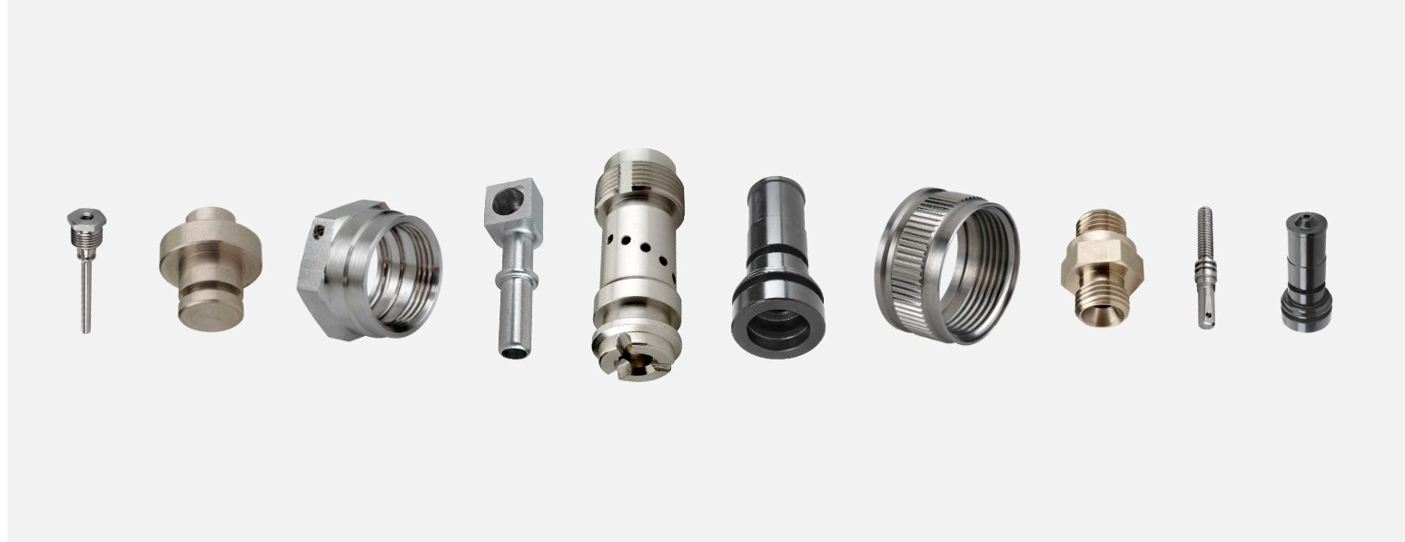 Machined Parts Made on Multi-spindle CNC Turning Machine