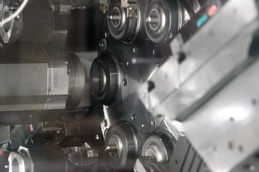 Precision Multi-spindle CNC Turning
