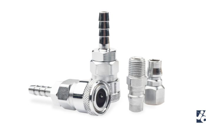Quick-connect hydraulic couplings